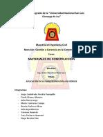 TRABAJO N°02 - MATERIALES DE CONSTRUCCION