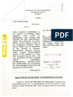 Motion for Reconsideration de Lima
