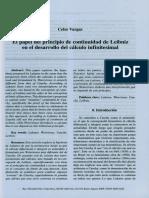 Nanopdf.com Celso Vargas El Papel Del Principio de Continuidad de Leibniz en El