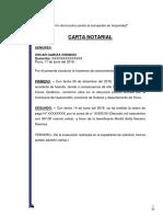 CARTA NOTARIAL Por Repeticion