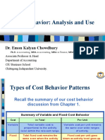 2. Cost Behavior_Analysis and Use