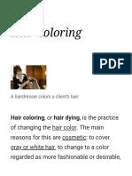 Hair Coloring - Wikipedia
