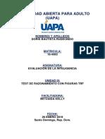 Evaluacion de la Inteligencia Tarea 2 y 3.docx
