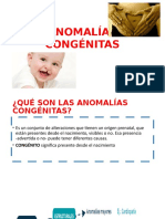 ANOMALÍAS CONGÉNITAS