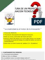 clase N° 07.ESTRUCTURA DE UN PROYECTO DE INNOVACION TECNOLOGICA