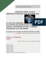 Instrucciones Panel PumpItUp