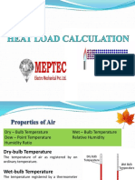 3 - Heat Load Calculations