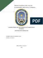 Informe de Laboratorio de Motores