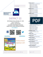 District 22 Newsletter June 2019