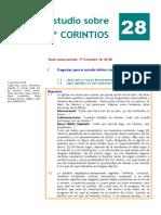 1º Corintios. Estudio 28.doc