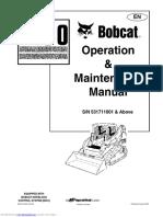 244759072 Bobcat T190 Operation Maintenance Manual
