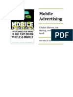 Mobile Advertising Full TOC