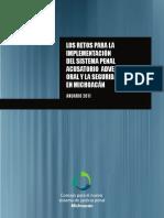A quien Capacitar. Gerardo Magadán Barragán. Anuario 2011. NSJP