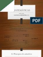 1 Sistema de Ecuaciones y Matrices