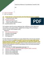 2014 Final Paediatric Exam (تم الحفظ تلقائيًا)