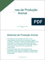 Sistemas de Producao Animal
