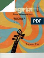 """Alegría I """"Metodo de Violín"""""""