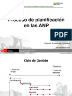 Planificacion en ANP