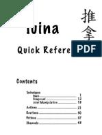 Tuina Quick Ref