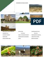 Patrimonio Cultural Del Perù_archivo