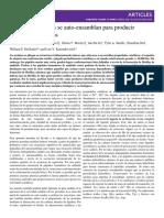 Los Peptidos Cortos Se Auto-Ensamblan Para Producir Amiloides Cataliticos