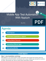 2. Mobile App Test Automation With APPIUM