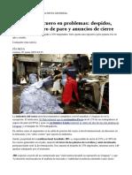 Industria Del Cuero en Problemas:Lo Mismo Pasaba en Urupanel