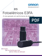 Sensores Fotoelétricos E3FA