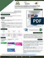 Poster nuevas tecnologías para la enseñanza de la estadistica en 5° de basica primaria