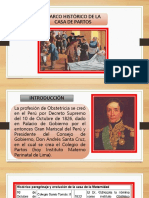 Marco Historico de La Casa de Partos