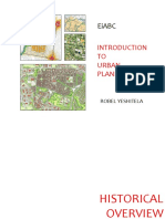 Elements of Urban Plans
