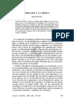 6. SCHELLING Y LA MÚSICA, ARTURO LEYTE