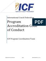 ICF Accreditation Code Guideline -PARfessionals