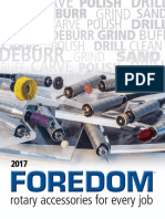 Foredom Rotary Accessories Catalog 2017