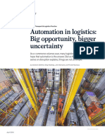 Automation in Logistics Big Opportunity Bigger Uncertainty VF