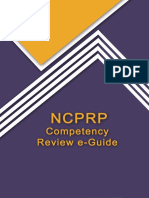 PARfessionals NCPRP Comptency Guide Book 2015