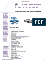 Manual Ford Ranger Fusibles
