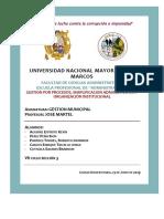 Gestion Por Procesos, Simplificacion Administrativa y Organizacion Institucional