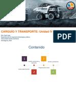 Unidad 4 Carguío y Transporte