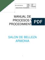 Manual de Procesos y Procedimientos[3597]Cielo