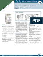 Protector de sobre y baja tensión trifásico con detección  de secuencia de fase - RBC Sitel.pdf