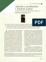 Casanovas, Las formas sociales del derecho contemporáneo el nuevo ius commune, 1998