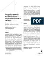 Fotografía y memoria visual de la dictadura militar. Reflexiones desde la historia.pdf
