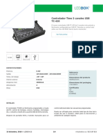 Controlador Time 5 Canales USB TC-420