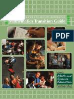 Math Transition Guide
