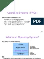 OpertingSystem Intro