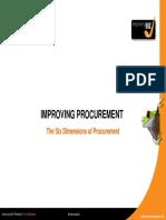6 Dimensions Procurement Model