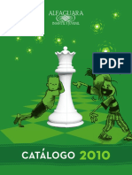 Catálogo Alfaguara 2010