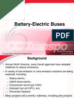 Electric Bus June 19, 2019
