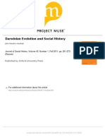 Darwinian Evolution and Social History - Journal of Social History - 2011